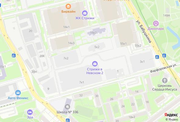 продажа квартир Стрижи в Невском 2