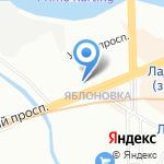 Сорокины двери на карте Санкт-Петербурга