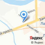BACKSTAGE на карте Санкт-Петербурга