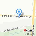 ПРОГРЕСС на карте Санкт-Петербурга