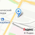 ПСП на карте Санкт-Петербурга