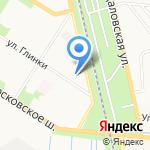 Следственный отдел по Пушкинскому району на карте Санкт-Петербурга