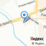 Мой сам! на карте Санкт-Петербурга