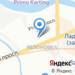 Бригит на Ладожской на карте Санкт-Петербурга