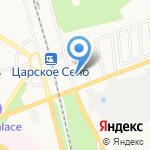 Детскосельский на карте Санкт-Петербурга