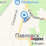 Веста Трейдинг на карте Санкт-Петербурга