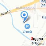 Gipfel на карте Санкт-Петербурга