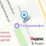 Вертекс на карте Санкт-Петербурга