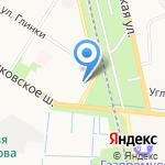 Санкт-Петербургский техникум железнодорожного транспорта на карте Санкт-Петербурга