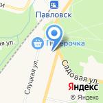 Центр социальной реабилитации инвалидов и детей-инвалидов Пушкинского района на карте Санкт-Петербурга