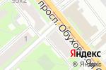 Схема проезда до компании Магазин трикотажа в Санкт-Петербурге