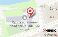 Схема проезда до компании Территория ИБО в Дзержинском