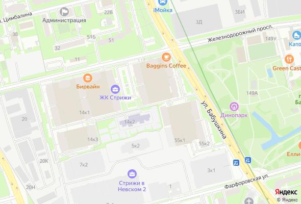 жилой комплекс Стрижи в Невском