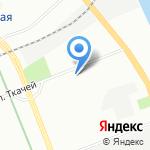 Водолей на карте Санкт-Петербурга
