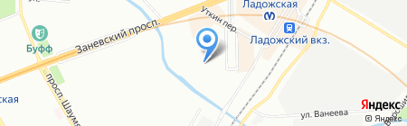 Росгосстрах на карте Санкт-Петербурга