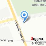 Новиков и К на карте Санкт-Петербурга