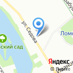 Архе на карте Санкт-Петербурга