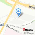 Авиасталь на карте Санкт-Петербурга
