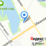 Детский сад №135 на карте Санкт-Петербурга