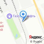 НХТС на карте Санкт-Петербурга