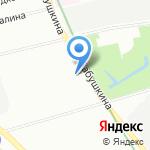 SA & O на карте Санкт-Петербурга