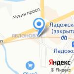 P.Borge на карте Санкт-Петербурга