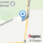 А+Б принт на карте Санкт-Петербурга