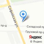 Wicsis на карте Санкт-Петербурга