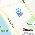 На любой вкус на карте Санкт-Петербурга