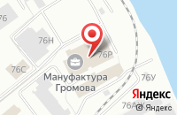Схема проезда до компании Промбизнес в Санкт-Петербурге