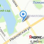 Детский сад №44 на карте Санкт-Петербурга