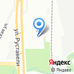 Форд Максимум на карте Санкт-Петербурга
