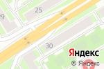 Схема проезда до компании SWG в Санкт-Петербурге