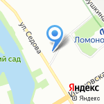 Росгосстрах банк на карте Санкт-Петербурга