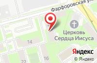 Схема проезда до компании Сфера в Санкт-Петербурге