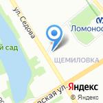 Золушка на карте Санкт-Петербурга