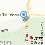 СпецРубеж на карте Санкт-Петербурга