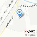 Винтарус на карте Санкт-Петербурга