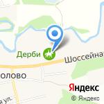 Дерби на карте Санкт-Петербурга