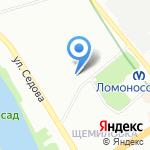 Центр гомеопатии на карте Санкт-Петербурга