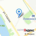 Невская на карте Санкт-Петербурга