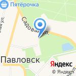 Айлу-Дарья на карте Санкт-Петербурга