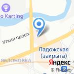 NIKKEN на карте Санкт-Петербурга