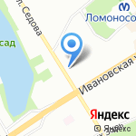 Дверная лига на карте Санкт-Петербурга