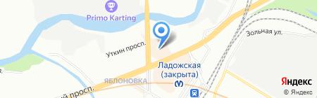 Open Space на карте Санкт-Петербурга