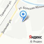 Автофранция на карте Санкт-Петербурга