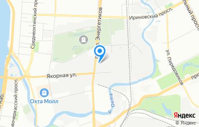 Местоположение на карте пункта техосмотра по адресу г Санкт-Петербург, пр-кт Энергетиков, д 19 литер м