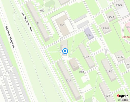 Жилищно-строительный кооператив «ЖСК- № 108» на карте Санкт-Петербурга