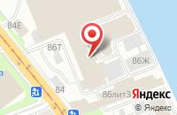 Схема проезда до компании Атлас в Санкт-Петербурге