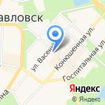 Хозяюшка на карте Санкт-Петербурга